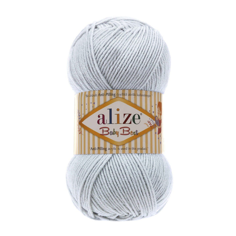 Alize Baby Best Alize Baby Best / Light Grey (224)
