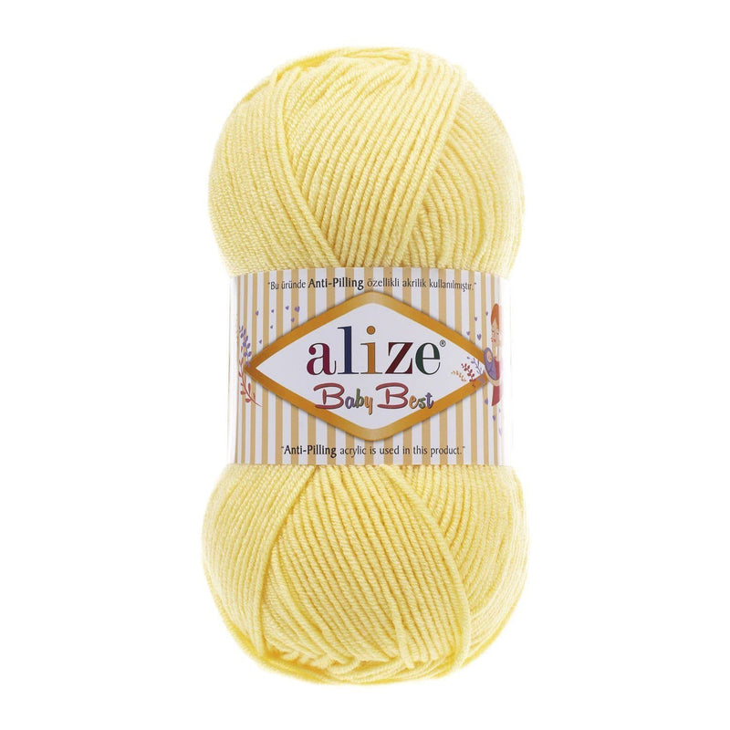 Alize Baby Best Alize Baby Best / Light Yellow (250)