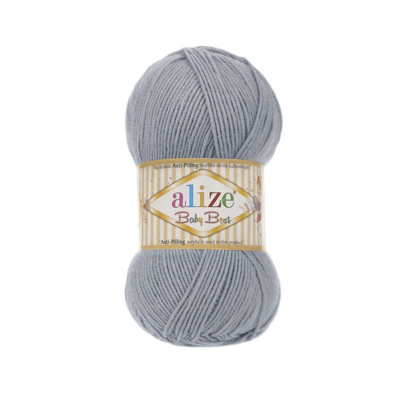 Alize Baby Best Alize Baby Best / Silver Grey (119)