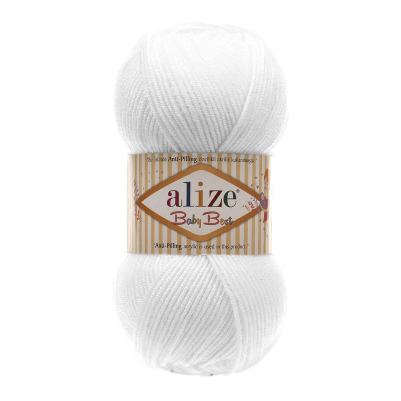 Alize Baby Best Alize Baby Best / White (55)