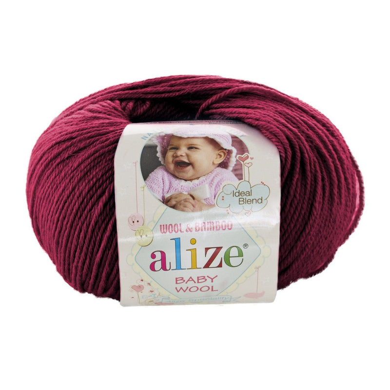 Alize Baby Wool Alize Baby Wool / Cherry (390)