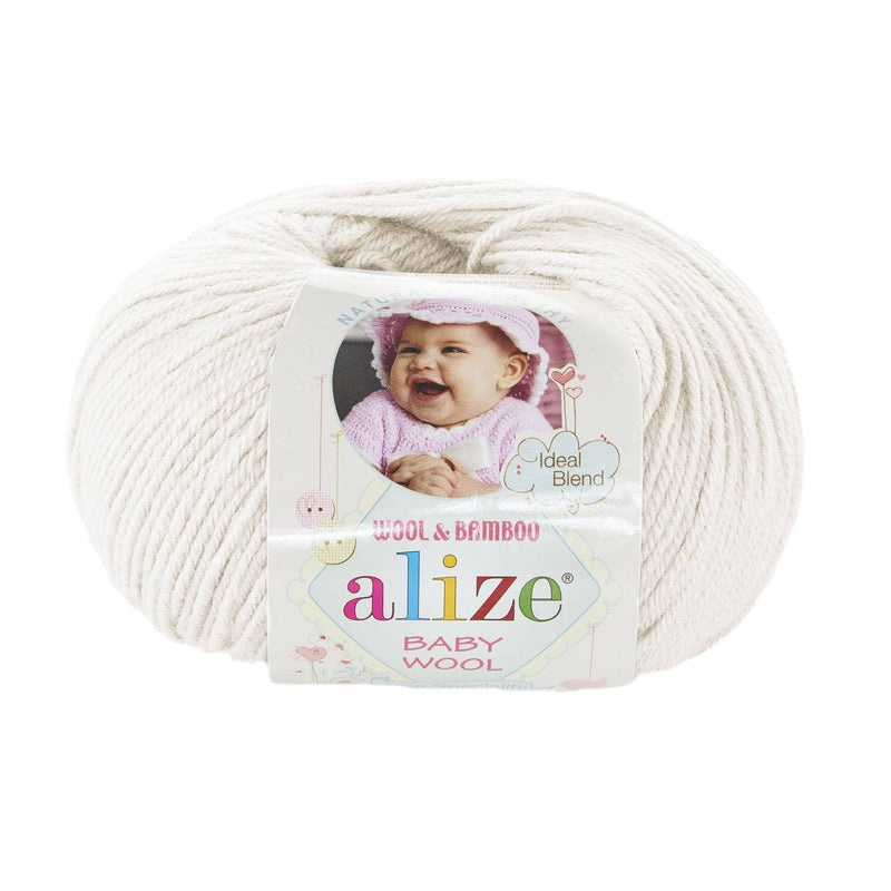 Alize Baby Wool Alize Baby Lana / Crema Claro (62)