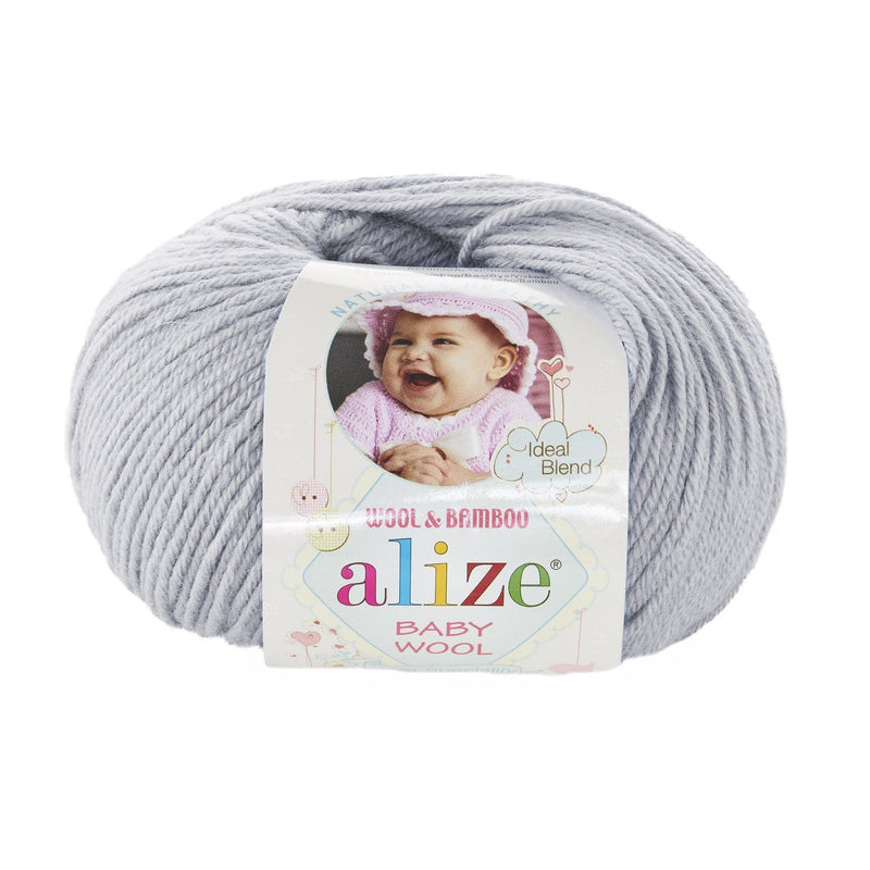 Alize Baby Wool Alize Baby Wool / Light Grey (52)