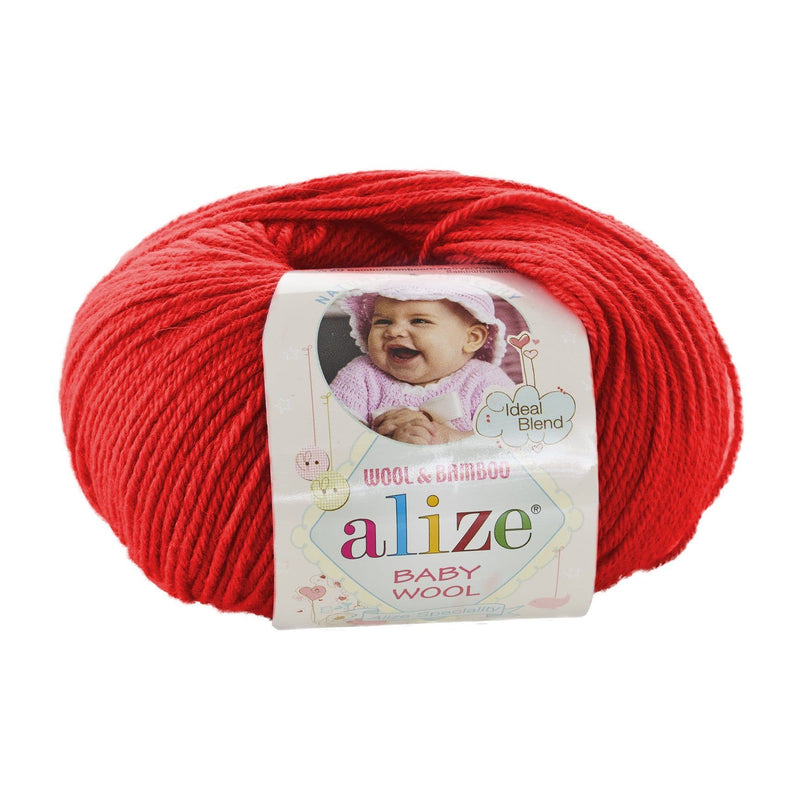 Alize Baby Wool Alize Baby Wool / Red (56)