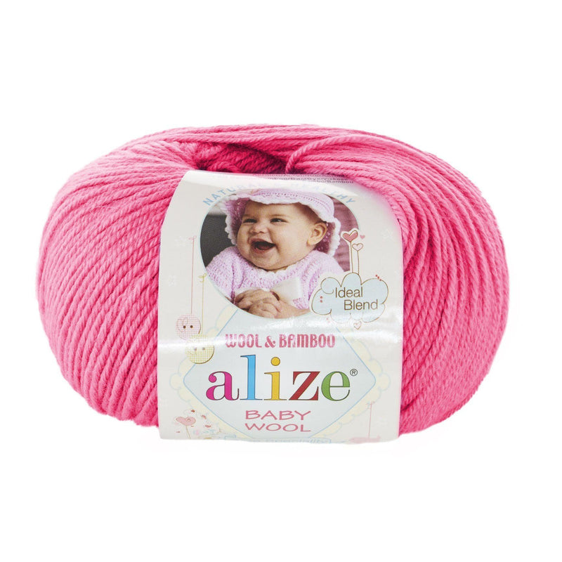 Alize Baby Wool Alize Baby Wool / Vivid Pink (33)