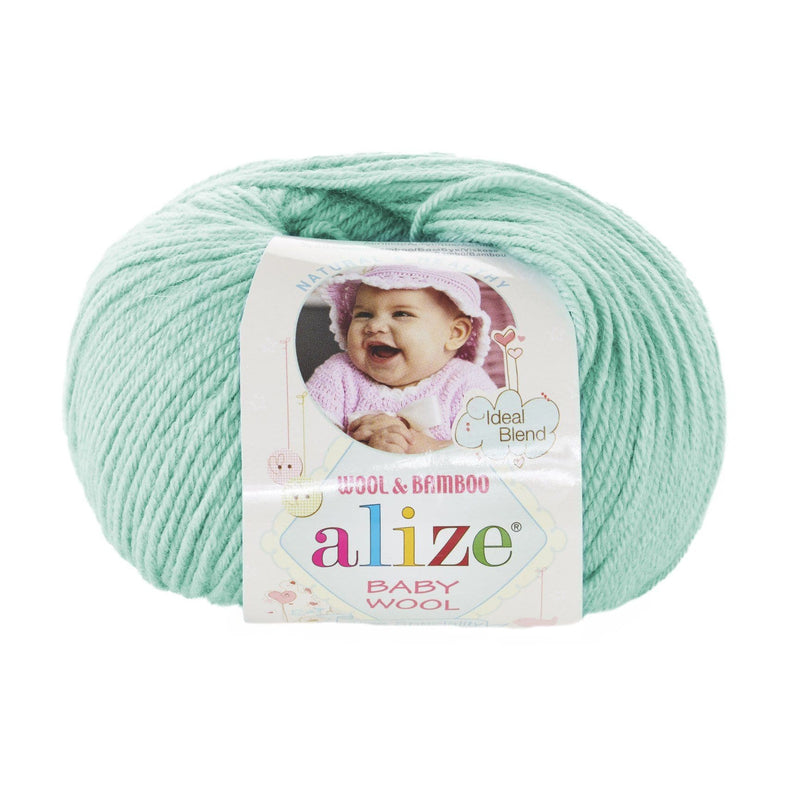 Alize Baby Wool Alize Baby Wool / Water Green (19)