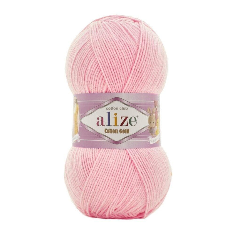 Alize Cotton Gold Alize Cotton Gold / Ballerina Pink (518)