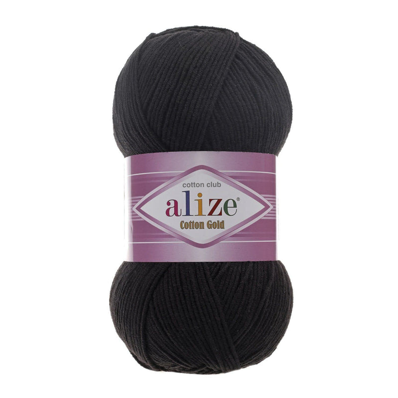 Alize Cotton Gold Alize Cotton Gold / Black (60)