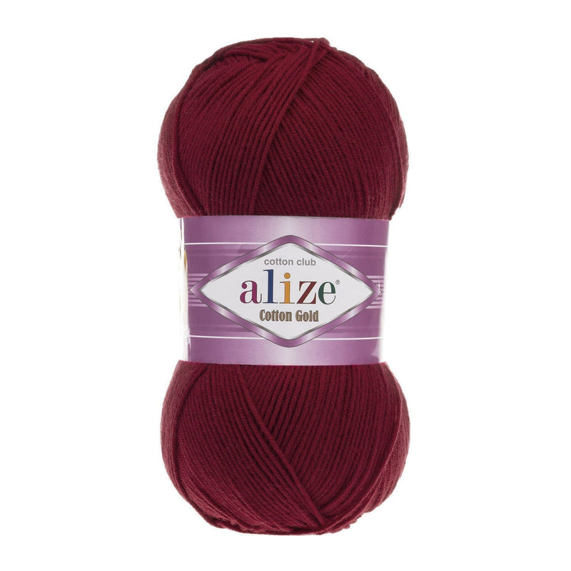 Alize Cotton Gold Alize Cotton Gold / Cherry (390)