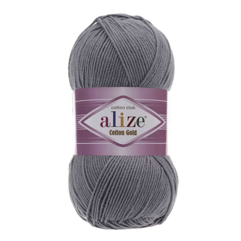 Alize Cotton Gold Alize Cotton Gold / Coal Grey (87)