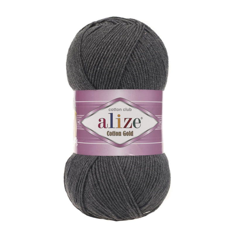 Alize Cotton Gold Alize Cotton Gold / Dark Grey Melange (182)