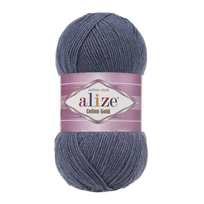 Alize Cotton Gold Alize Cotton Gold / Denim Melange (203)