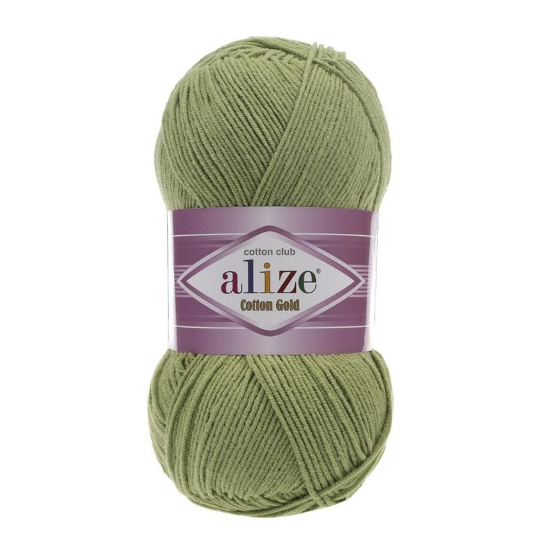 Alize Cotton Gold Alize Cotton Gold / Green (385)