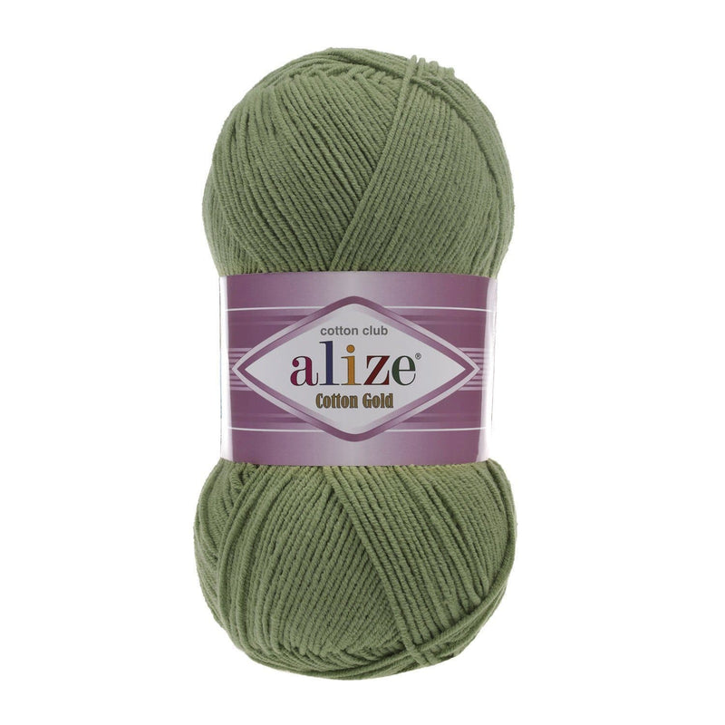 Alize Cotton Gold Alize Cotton Gold / Green (485)