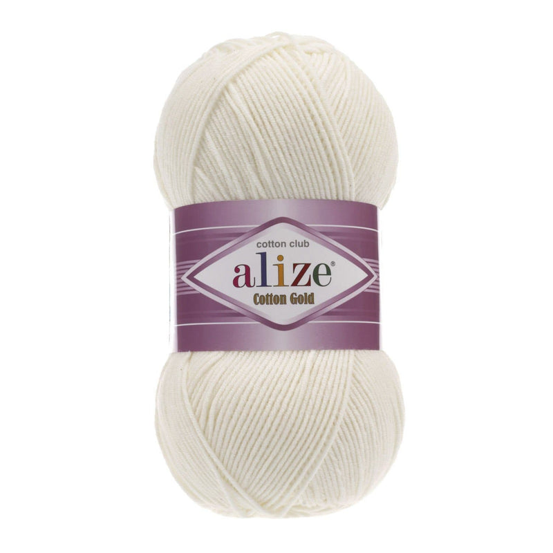 Alize Cotton Gold Alize Cotton Gold / Light Cream (62)