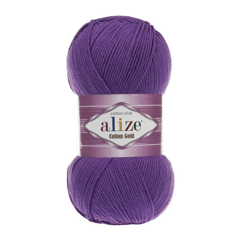 Alize Cotton Gold Alize Cotton Gold / Purple (44)