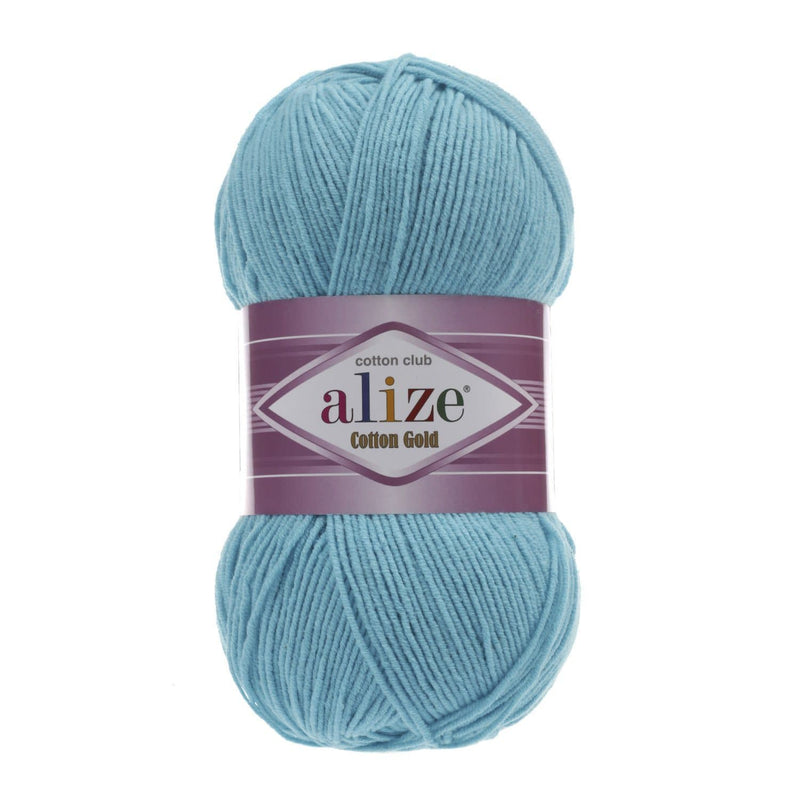 Alize Cotton Gold Alize Cotton Gold / Turquoise (287)
