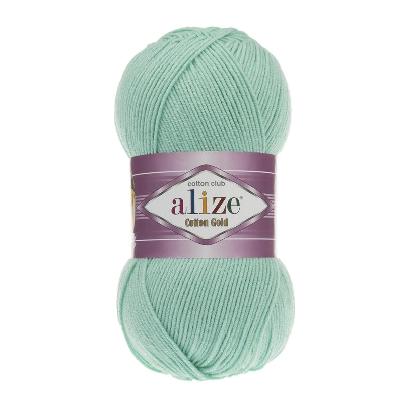 Alize Cotton Gold Alize Cotton Gold / Water Green (15)