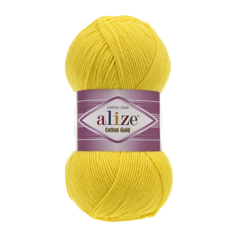 Alize Cotton Gold Alize Cotton Gold / Yellow (110)