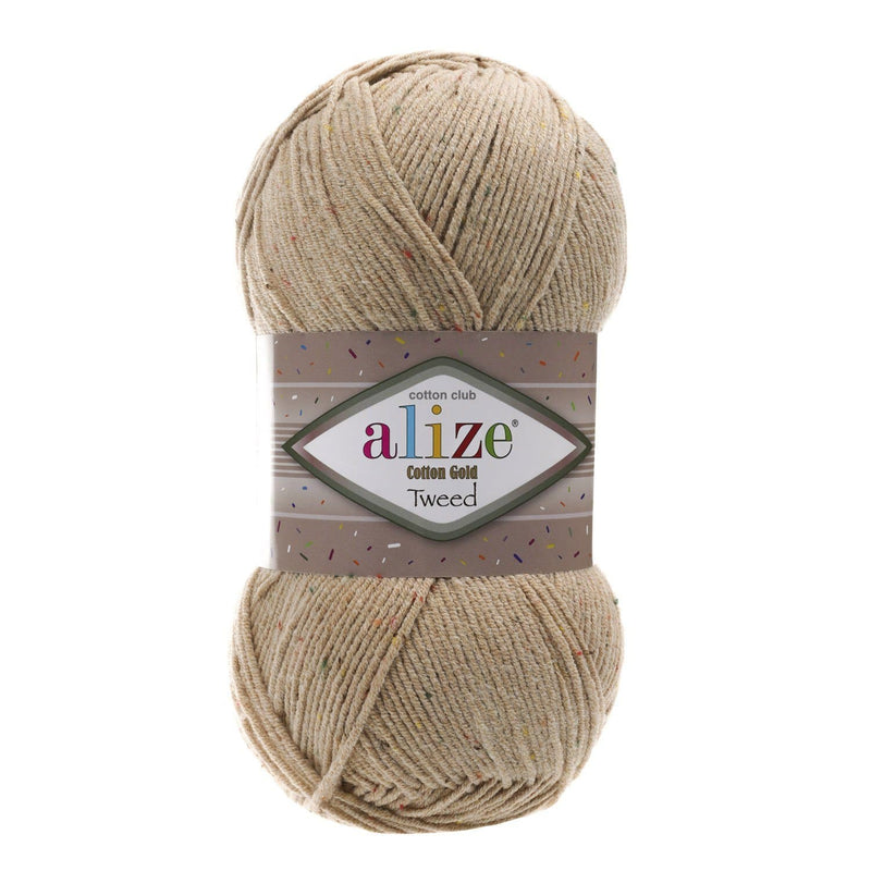 Alize Cotton Gold Tweed Alize Cotton Gold Tweed / Beige (262)
