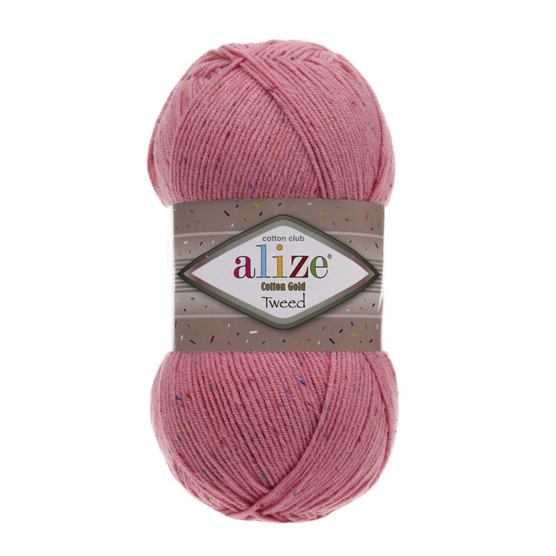 Alize Cotton Gold Tweed Alize Cotton Gold Tweed / Candy Pink (33)