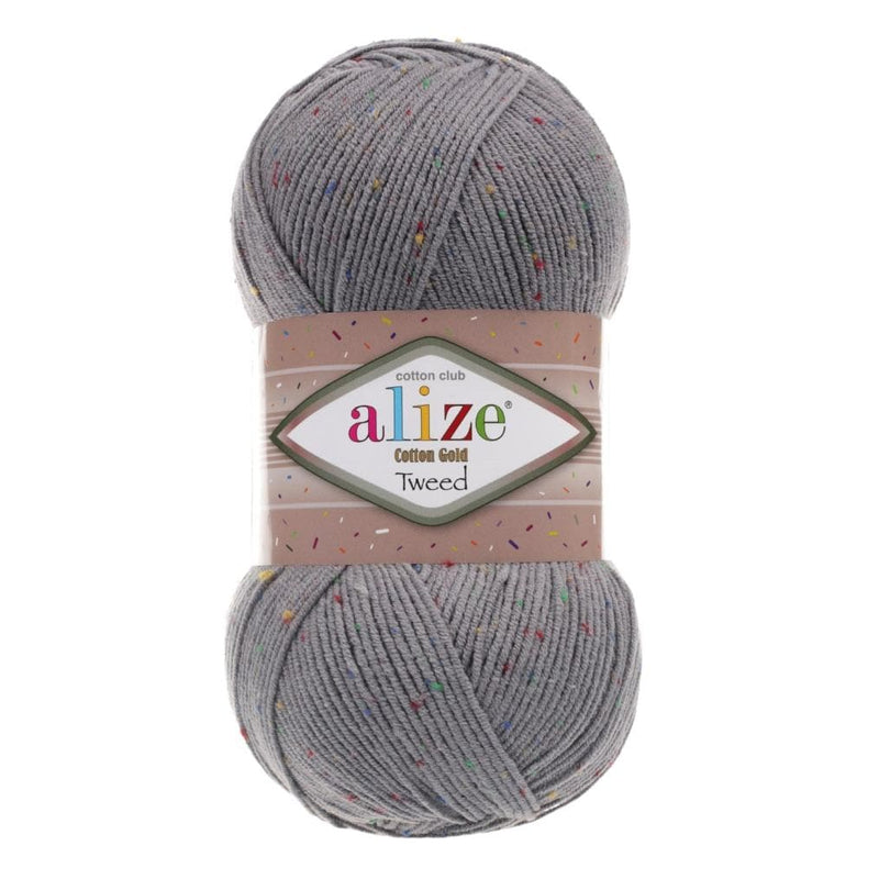Alize Cotton Gold Tweed Alize Cotton Gold Tweed / Coal Grey (87)