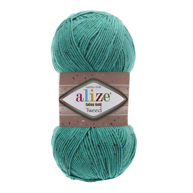 Alize Cotton Gold Tweed Alize Cotton Gold Tweed / Jade (610)