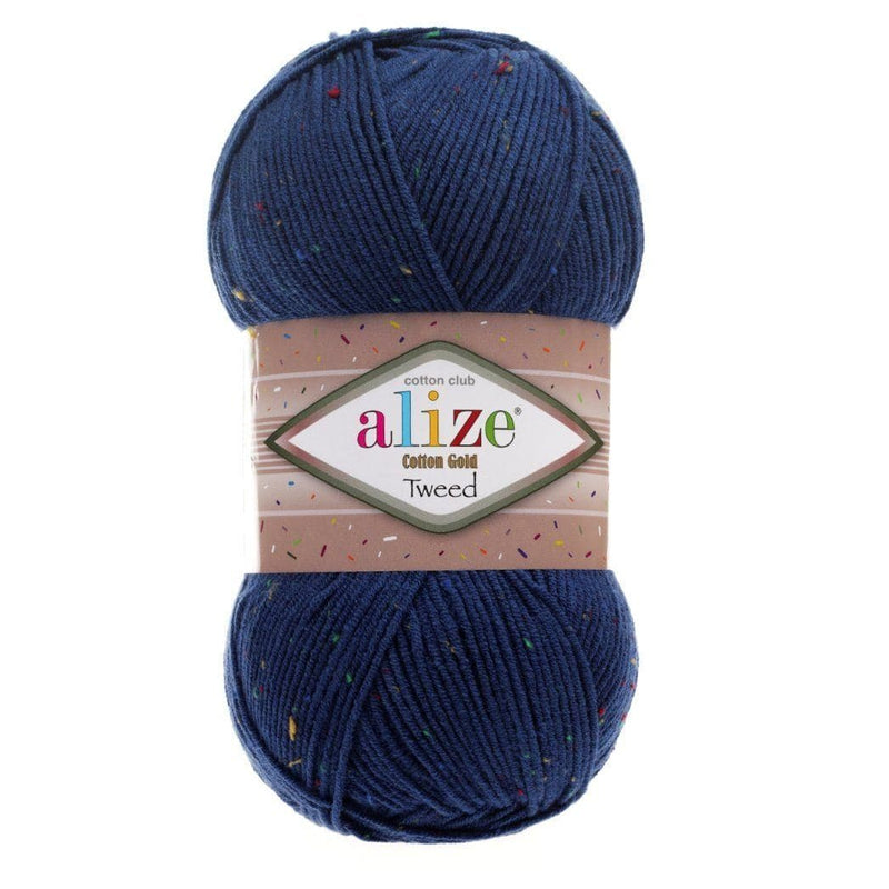 Alize Cotton Gold Tweed Alize Cotton Gold Tweed / Midnight Blue (279)