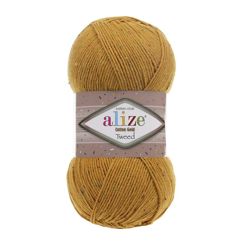 Alize Cotton Gold Tweed Alize Cotton Gold Tweed / Mustard (2)