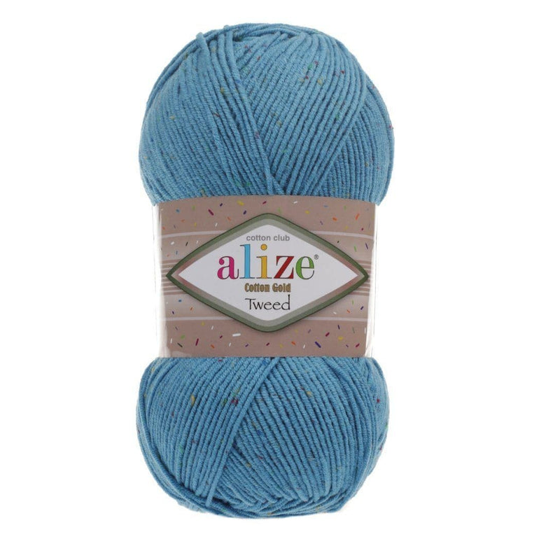 Alize Cotton Gold Tweed Alize Cotton Gold Tweed / Sochi Blue (245)