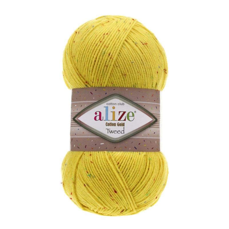 Alize Cotton Gold Tweed Alize Cotton Gold Tweed / Yellow (110)