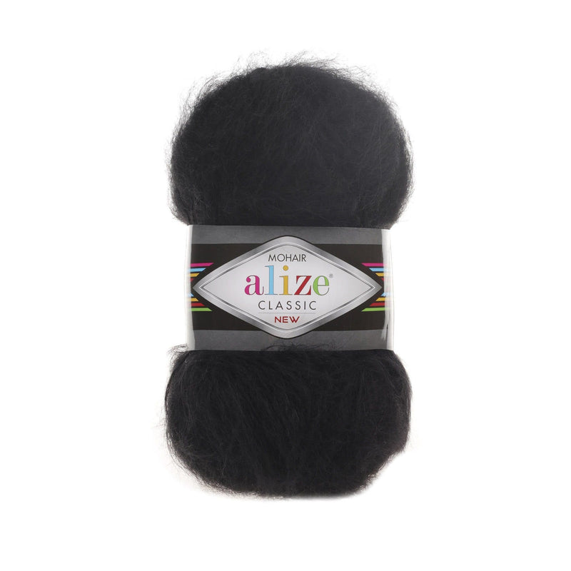 Alize Mohair Classic Alize Mohair / Black (60)