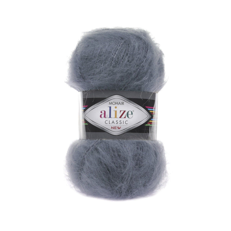 Alize Mohair Classic Alize Mohair / Coal Grey (87)