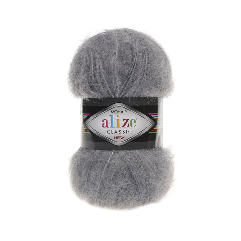 Alize Mohair Classic Alize Mohair / Grey Melange (412)