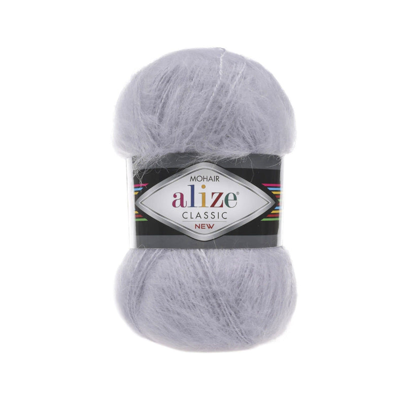 Alize Mohair Classic Alize Mohair / Light Grey (52)