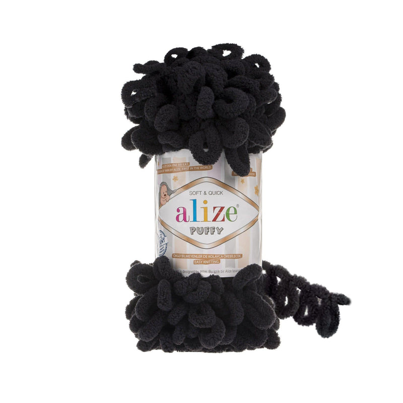 Alize Puffy Alize Puffy / Black (60)