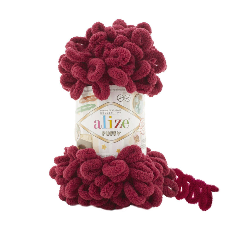 Alize Puffy Alize Puffy / Bordeaux (107)