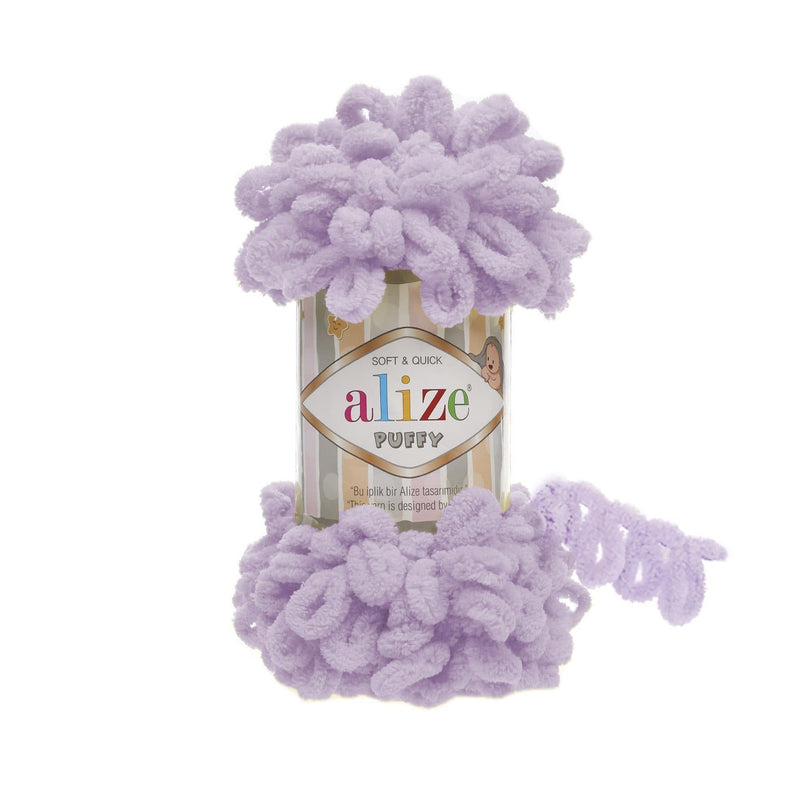 Alize Puffy Alize Puffy / Light Lilac (27)