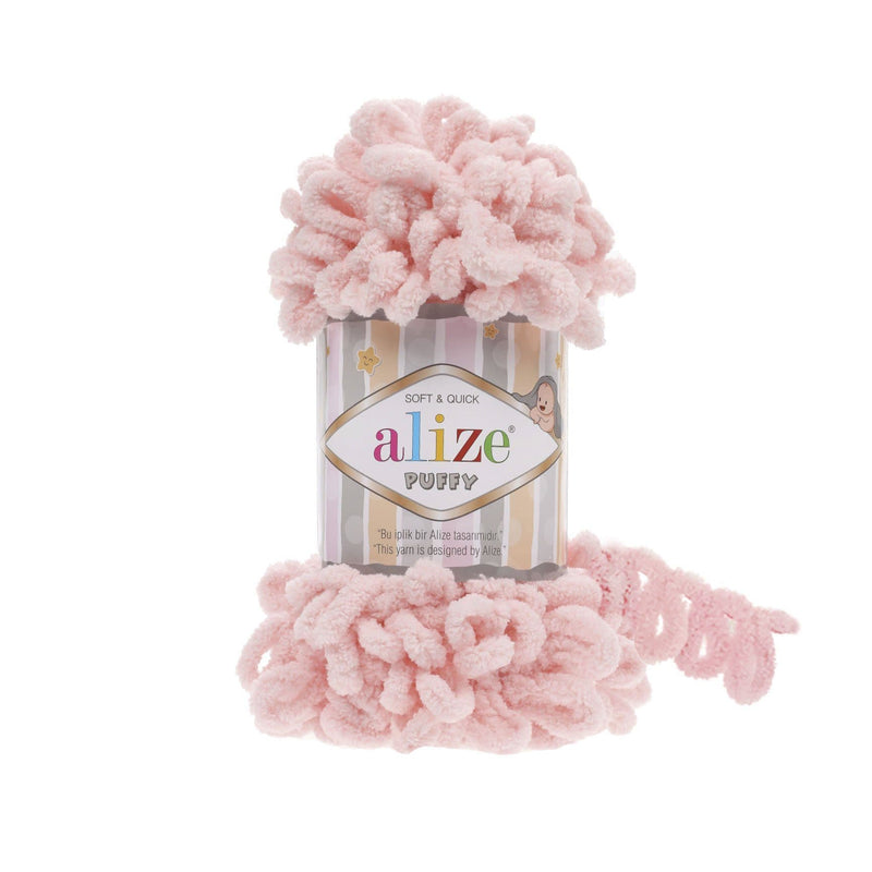 Alize Puffy Alize Puffy / Powder Pink (340)