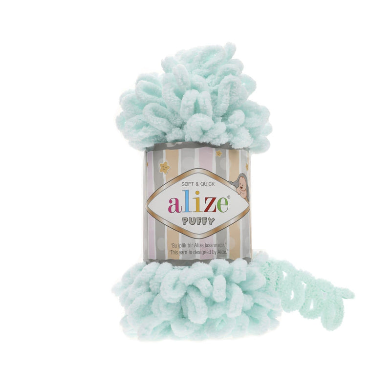 Alize Puffy / Water Green (15)
