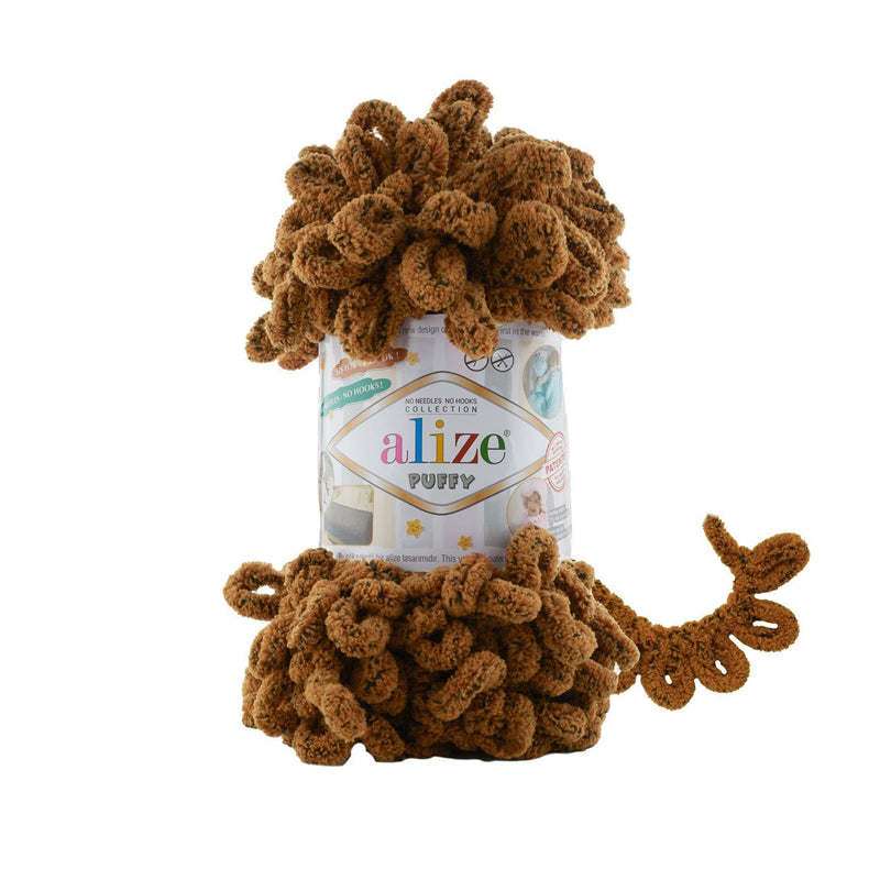 Alize Puffy Animal Skin Colors Alize Puffy Animal / Squirrel (718)