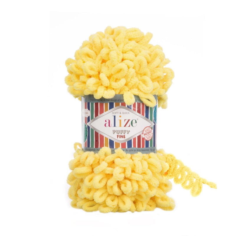 Alize Puffy Fine Alize Puffy Fine / Yellow (113)