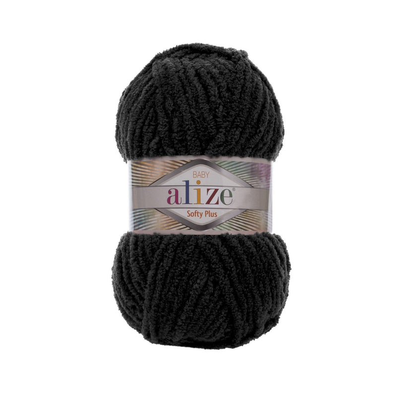 Alize Softy Plus Alize Softy / Schwarz (60)