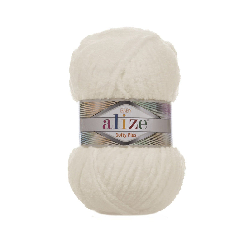 Alize Softy Plus Alize Softy / Leichte Creme (62)