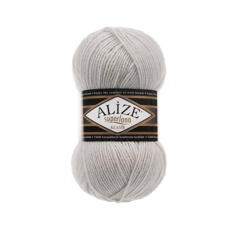 Alize Superlana Klasik Alize Superlana / Light Grey Melange (208)