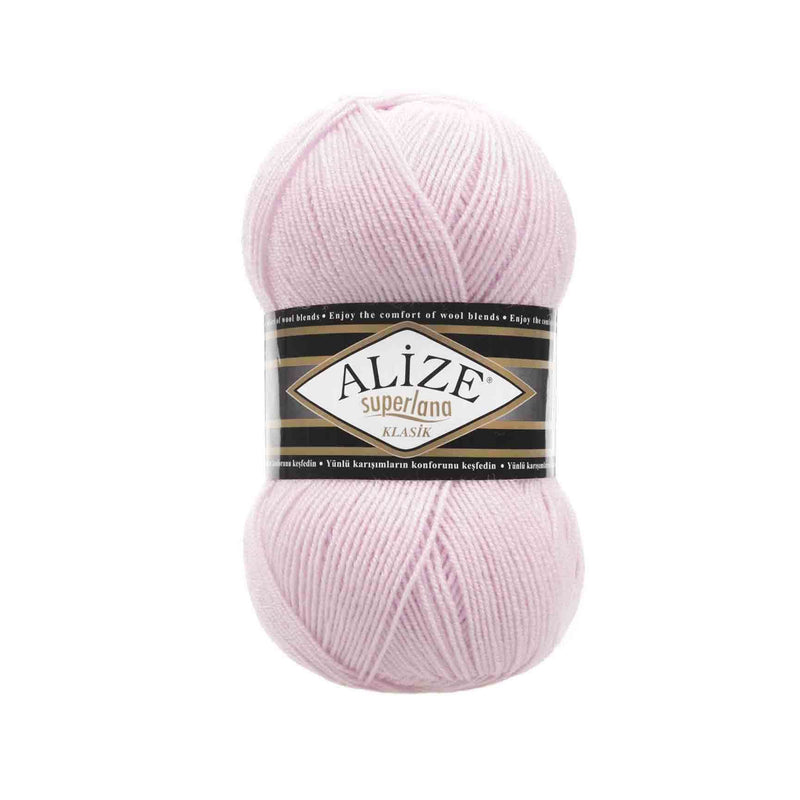 Alize Superlana Klasik Alize Superlana / Powder Pink (518)