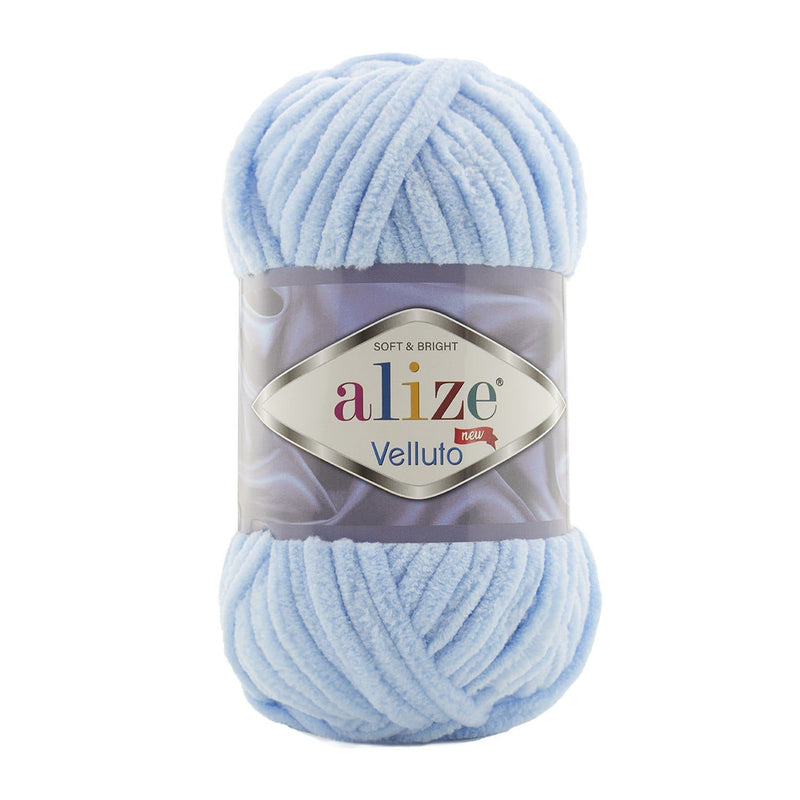Alize Velluto Alize Velluto / Baby Blue (218)