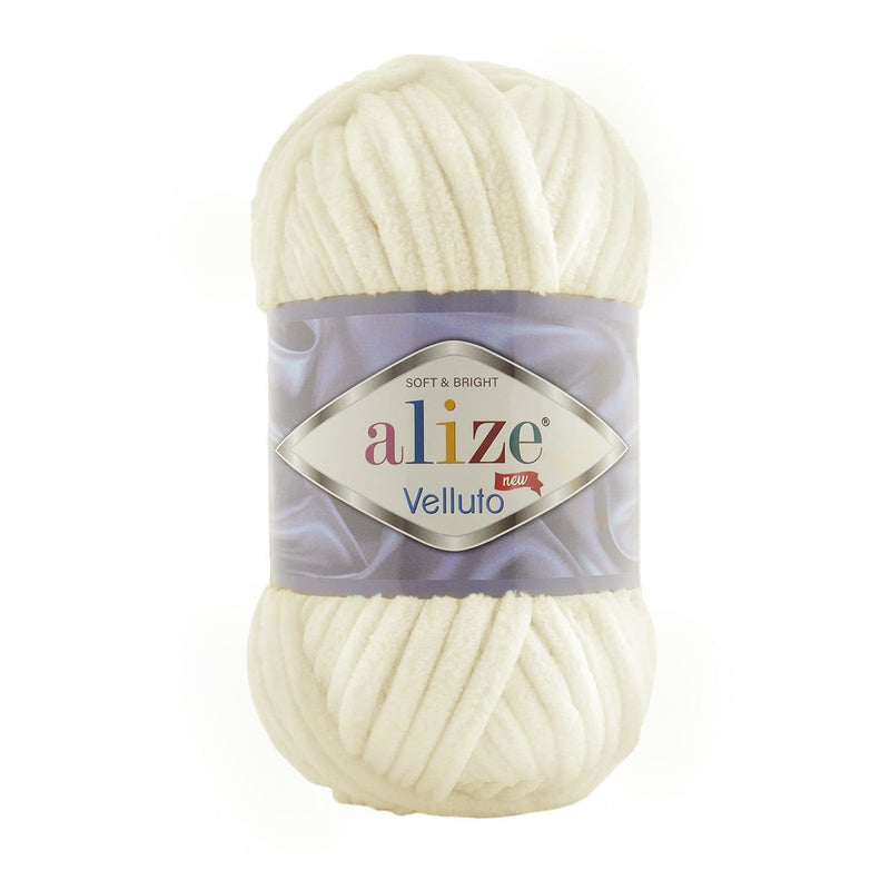 Alize Velluto Alize Velluto / Light Cream (62)