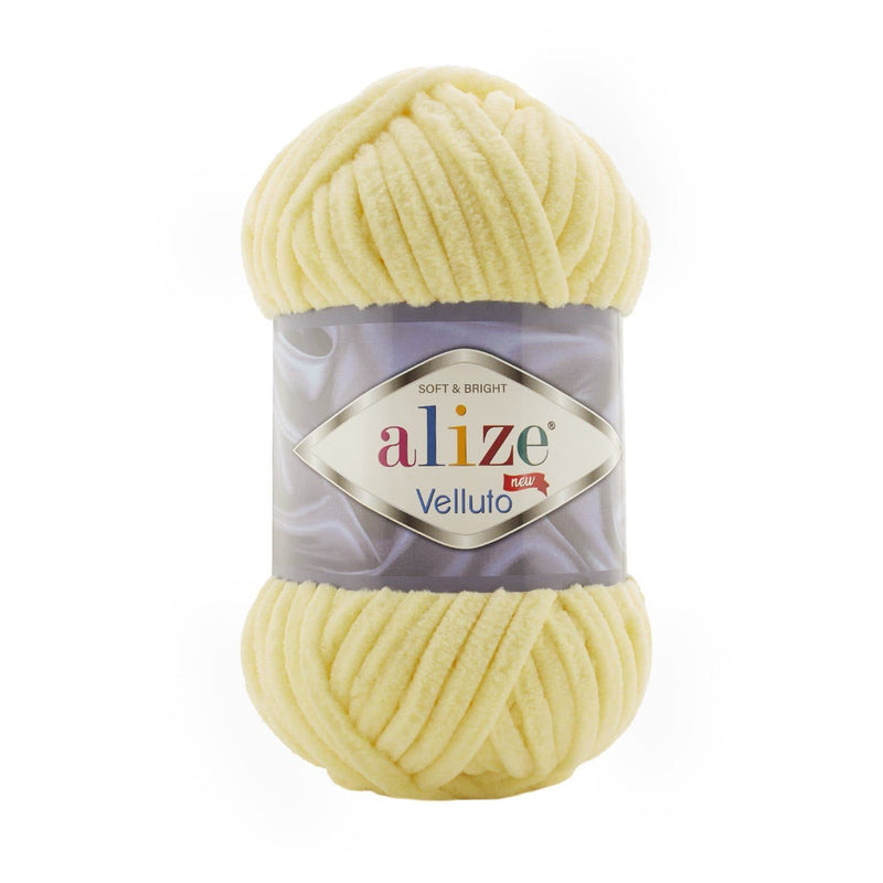 Alize Velluto Alize Velluto / Light Yellow (13)