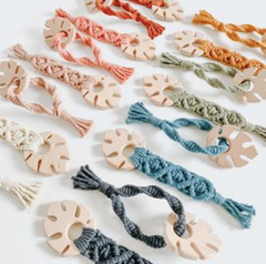 monstera natural teethers